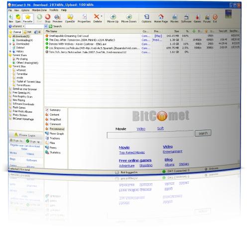 BitComet - скачать бесплатно по прямой ссылке