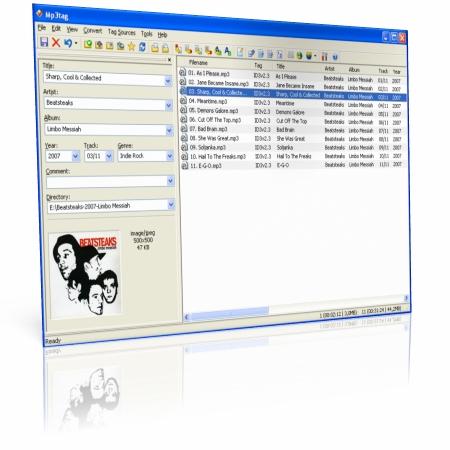 Mp3Tag бесплатный органайзер и редактор тегов аудиофайлов - скачать бесплатно